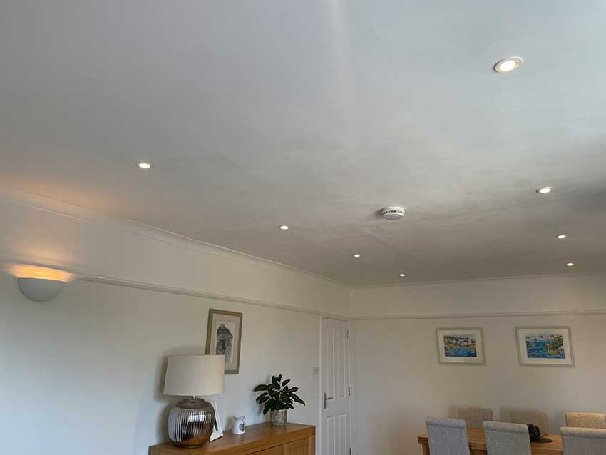 Electrical installation for domestic extension - Helston